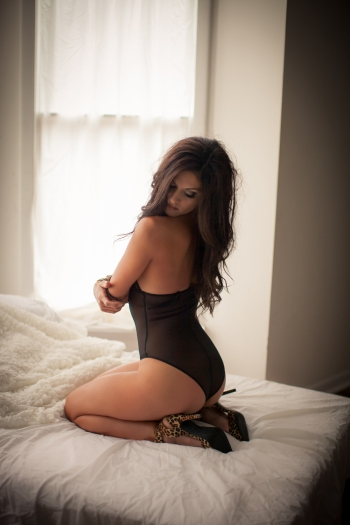 Indiana boudoir photographer